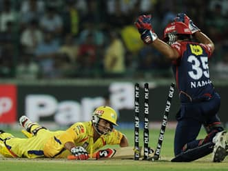 Disciplined Delhi Daredevils restrict Chennai Super Kings to 110 in IPL 2012 match