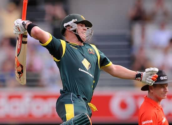 Australia vs Sri Lanka, CB Series 1st final, Brisbane (Mar 4, 2012)