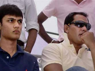 Bollywood, sports icons offer prayers on Twitter for Azhar's son