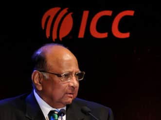 ICC slams President Pawar for World Cup ticket mess