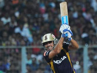 Manvinder Bisla catches the eye by playing the white knight for KKR