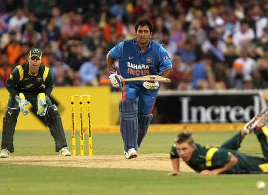 Image result for India vs Australia 2012 tri series, Adelaide