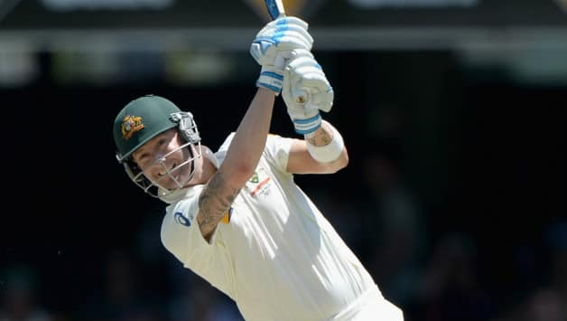 Ashes 2013-14: Michael Clarke slams ton as Australia pile on runs