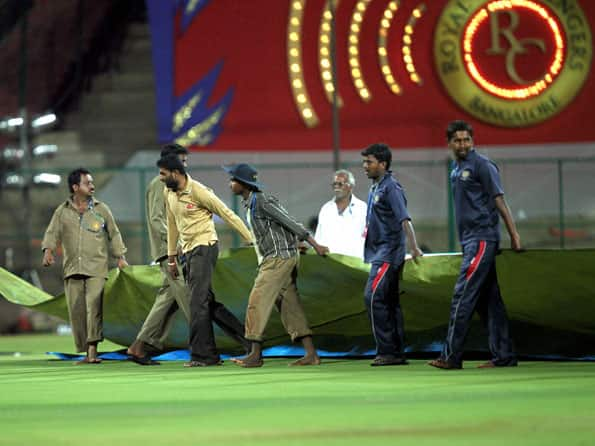 IPL2012: RCB-CSK match called off due to heavy rains