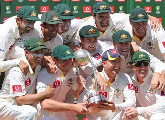 Australia vs India, 4th Test, Adelaide Oval, Adelaide (Jan 24-28, 2012)