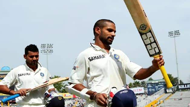 Honour to receive Test cap from Sachin Tendulkar, says Shikhar Dhawan