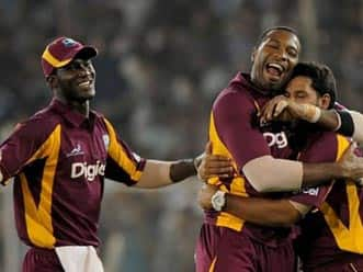 Sammy, Rampaul guide West Indies to 16-run win over India