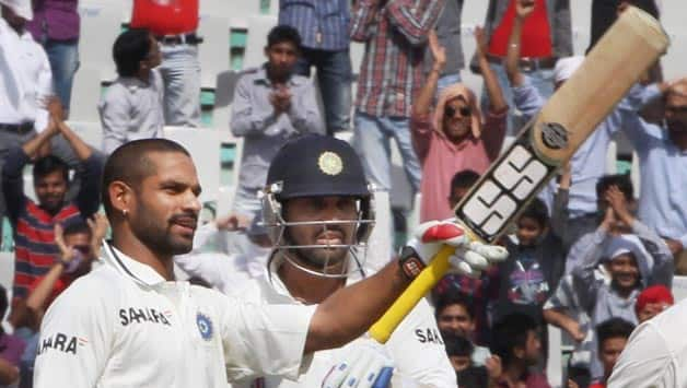 Shikhar Dhawan becomes sixth highest scorer on Test debut