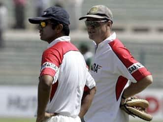 I owe a lot to Rahul Dravid: John Wright