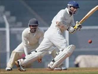 Kanitkar century helps Rajasthan post 309 on day one against Mumbai