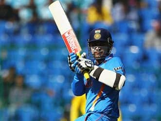 Sehwag slams century as India run riot