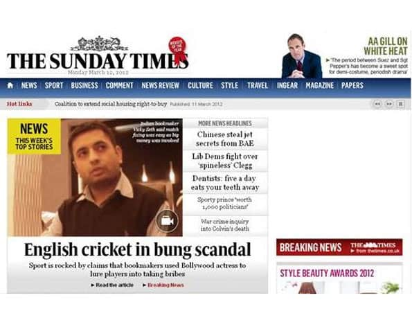 2011 India-Pak World Cup semis fixed: UK newspaper's sting operation with bookie