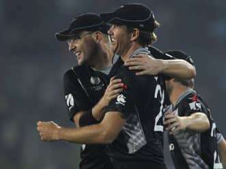 Incredible catch during a domestic New Zealand T20 match