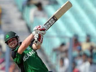 Stirling ton powers Irish win over Kenya in T20