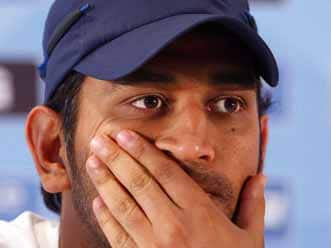 Charismatic Dhoni facing test of character