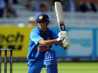 Dravid's triumphant ODI career