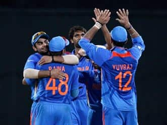 India to feel upbeat in the knock-out.