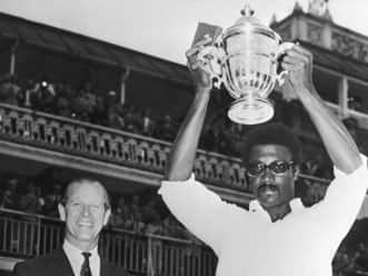 West Indies pop the champagne moment