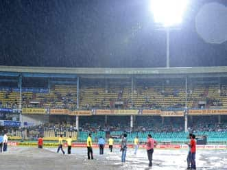 India-New Zealand first T20 at Visakhapatnam abandoned due to rain