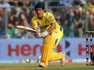 Dhoni onslaught takes Chennai to huge total in IPL eliminator against Mumbai