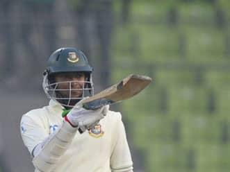 Shakib, Shahriar make it Bangladesh's day