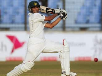 Pakistan extend lead against Bangladesh on day two