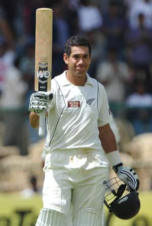 Ross Taylor proves that attack is the best form of defence