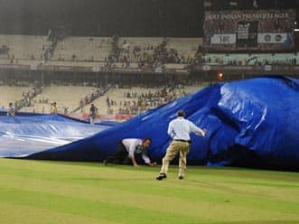 KKR-DC match abandoned due to poor outfield