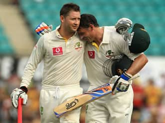 Michael Clarke proud to lead from the front
