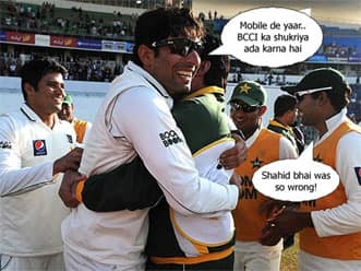 Pakistan team thanks BCCI for barring its players from the IPL!