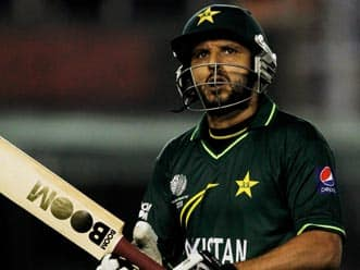 Afridi not concerned about fans' backlash