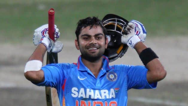 Virat Kohli complete's 100 ODI matches for India