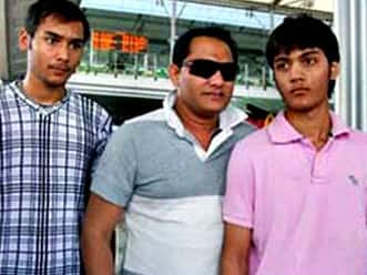 Azharuddin's son battles for life a day after accident