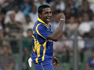 Ajantha Mendis' effort is destined to be in the record books.