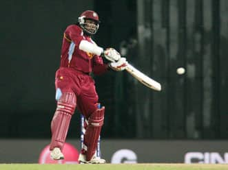 ICC World T20 2012: Chris Gayle lives up to his promise on Twitter