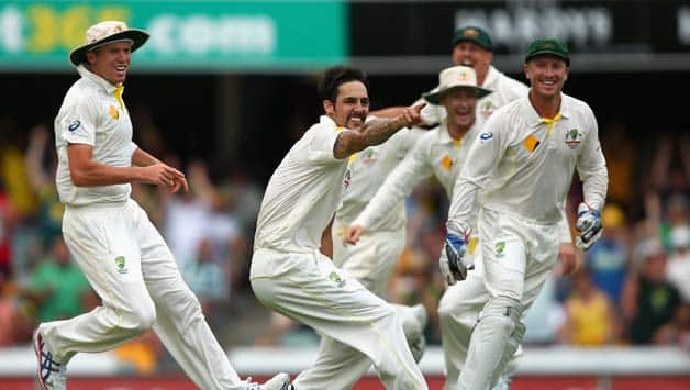 Mitchell Johnson's thunderbolts in 1st Ashes Test