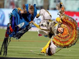 IPL 2012: Kolkata Knight Riders celebrate opening of fifth season of IPL