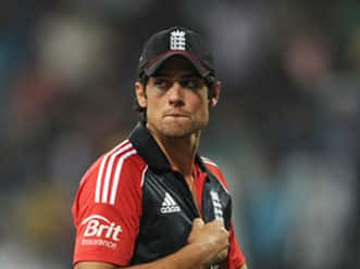 Alastair Cook frustrated after England's fourth consecutive loss