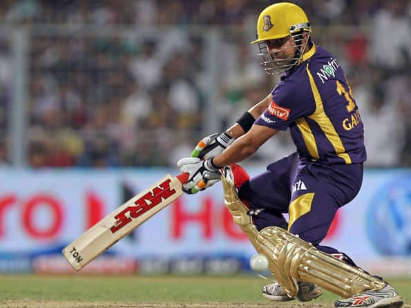Live Cricket Score IPL 2012: Royal Challengers Bangalore vs Kolkata Knight Riders - RCB to chase 166 runs