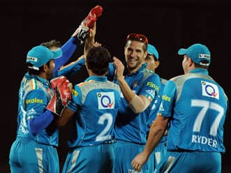IPL 2012: Pune Warriors penalised for slow over rate in clash against KKR