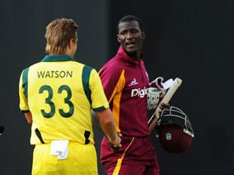 West Indies win toss, to bat against Australia in the second T20