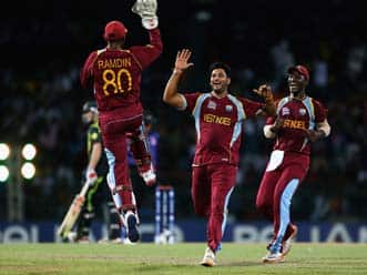 ICC World T20 2012: West Indies outclass Australia, to face Sri Lanka in World T20 final