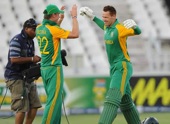 South Africa vs Australia, 2nd T20, Johannesburg (Oct 16, 2011)