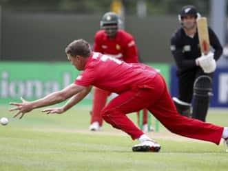 New Zealand set 249-run target against Zimbabwe in first ODI