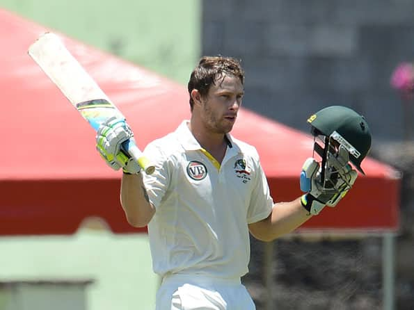 Matthew Wade slams ton to put Australia in command at Lunch