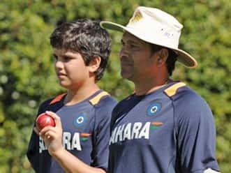 Arjun Tendulkar scores century