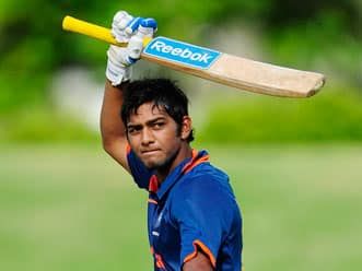 Under 19 Cricket World Cup 2012: Unmukt Chand slams ton as India inch closer to title