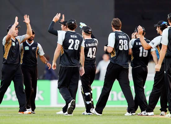 New Zealand vs South Africa, 1st T20, Wellington (Feb 17, 2012)