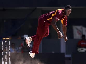 Andre Russell's four helps West Indies restrict New Zealand to 249