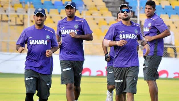 India practice ahead of fourth Test against England at Nagpur